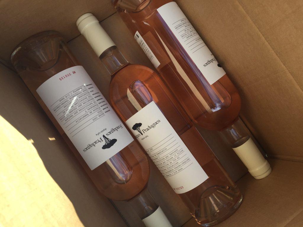 Caisse de vins Fondugues-Pradugues
